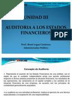 UNIDAD III, Auditoria a Los Estados Financieros Present a Dos Bajo NIC - NIIF