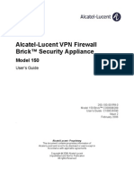 Alcatel Lucent VPN Firewall Brick Security App Model 150