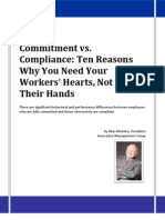 Commitment vs. Compliance