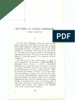 Astrada-En Torno Al Ultimo Heidegger