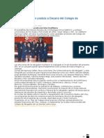 Espinoza Callán postula a Decano del Colegio de Abogados
