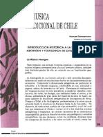 La música tradicional de Chile