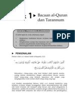 pelajaran taranum