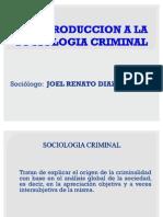 Origenes de La Sociologia Criminal