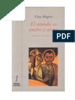 Alegria Ciro - El Mundo Es Ancho Y Ajeno