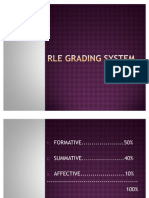 Rle Grading System