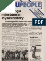 Plysu People No.12 Winter 1974