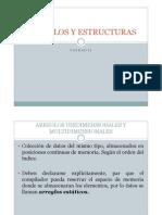 ARREGLOS Y ESTRUCTURAS