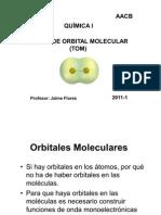 TEORÍA DE ORBITAL MOLECULAR