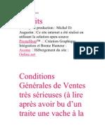 CGV Michel Et Augustin
