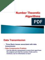 Number Theoretic Algorithms