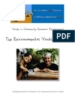 Youth and Community Economic Development - Environmental Youth Alliance (EYA)