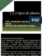 1.2.3 Tipos de Planes.