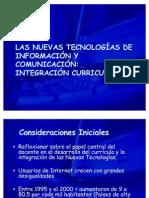 Las Nuevas Tecnologías de Información y Comunicación