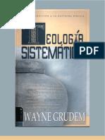 Wayne Grudem Teologia Sistematica 1-8 x Eltropical