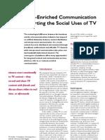 Journal Communication n Tv
