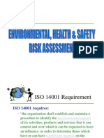 EHS Risk Assessment