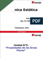 Mecánica Estática - Unidad 5 y 7 - 2011pptx