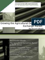 Growing the Exchange Agri Market-1
