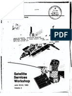 Satellite Services Workshop Vol 2