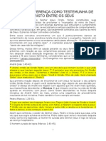 FAZENDO DIFERENÇA COMO TESTEMUNHA DE CRISTO