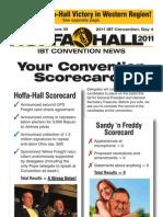 Hoffa/Hall Convention News-Thursday