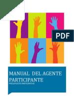 Manual del Agente Participante - Presupuesto Participativo