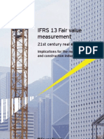 EY IFRS 13 Fair Value Measurement Real Estate Values GL IFRS