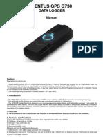 English Manual G730