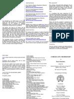 Basic Electronics Flyer for Main Workshop