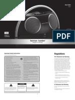 Harman-Kardon Owner's Manual - Go + Play II (English)