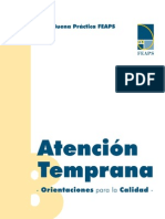 Manual de buenas practicas FEAPS Atención Temprana