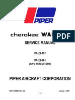 Piper 761-539 Warrior Mx v2009