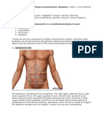 LI - Physical Examination - Abdomen