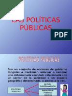 Las Políticas Públicas