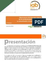 Informe Observatorio Mercado Laboral IAB 2011