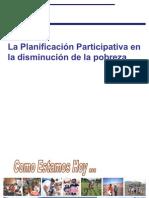 La planificación participativa en la disminución de la pobreza