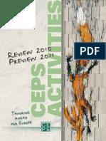 CEPS Activities Report 2010-2011
