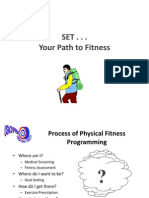 Set Your Path to Fitness