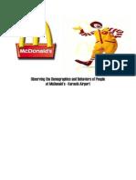 McDonald's Karachi Airport