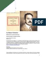 1925 José Vasconcelos- Raza cósmica