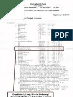 Blut- Und Nierenwerte Dr. Puck - 30. Juni 2011