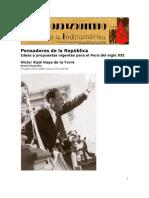 1945. Haya de la Torre - El gran desafío de la democracia