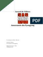 Gerard de Villiers - Amazoanele Din Pyongyang
