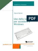 Ris Uso Della Astiera Per l'Accesso a Windows