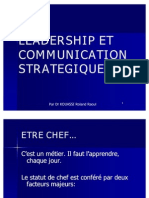 Leadership Et Communication Strategique