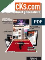 Lesinrocks.com Web 2011 Slide General | AbsolutMind Online Media