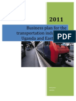 Business plan template for a transport company strategic business plan for the transportation industry in uganda and east africa friedricerecipe Choice Image