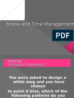 1.Time and Stress Management 2