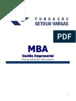 MBA - Gestão Empresarial
